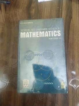 Mathematics 11 RS Agarwal