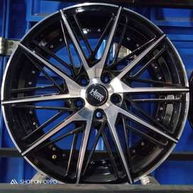 Velg Mobil Civic,Camry,Accord, HSR Ring 18 Lebar 8 Pcd 5x114,3 BMF