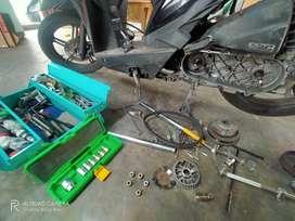 Servis Motor / Perbaikan Panggilan
