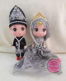 Boneka Wedding Cantik & Imut