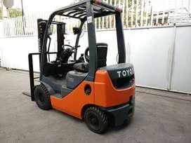 Toyota Forklift 1.5 Ton Mesin Diesel Mast 3 Meter