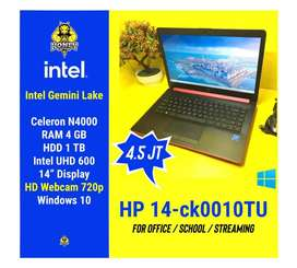 Laptop HP - Intel N4000 4GB 1TB Intel UHD Graphics 14 inch Windows 10