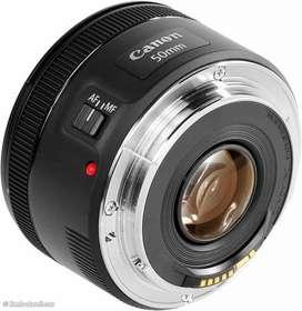 Lensa Fix Canon 50 MM | Fix 50mm F/ 1.8 STM BARU