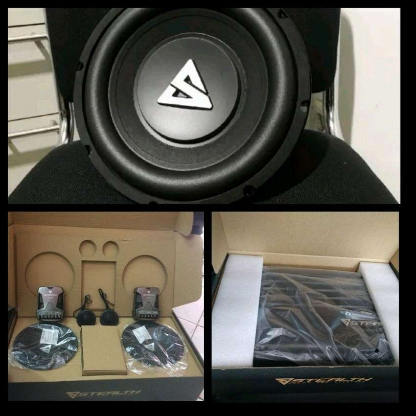 Promo Paket Audio STEALTH XR 0