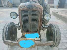 Sale Tractor & trolley with fixed business