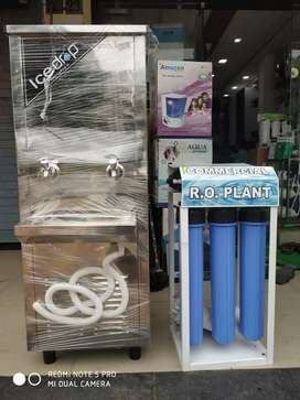 commercial RO Plant SS WATER COOLER School, office Use