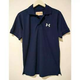 Kaos kerah Under Armour ori sisa export murah