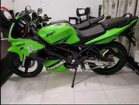 Ninja RR 150cc warna hijau atas nama sendiri