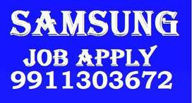 samsung job Full time job apply in helper,store keeper,supervisor
