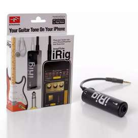iRig guitar interface amplitube for ios/android