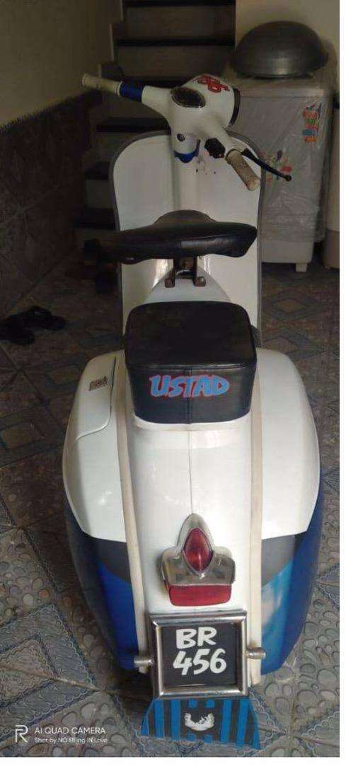 Vespa is up for sale