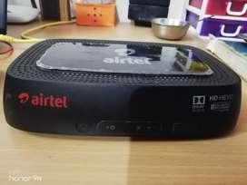 Airtel HD set of box