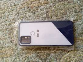 Infinix hot 10 glass mobile cover