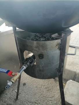 Burner + karrahi  And other things