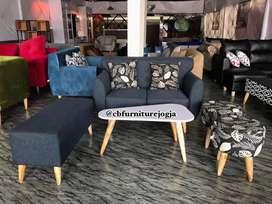 Sofa Scandinavian 1 set harga Terjangkau