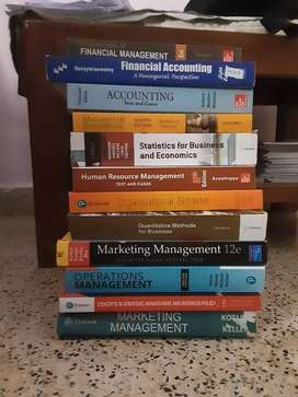 MBA books for selling