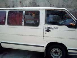 Toyota hiace in side out side total jenuion