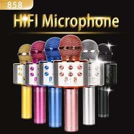 Bluetooth speaker karaoke mic