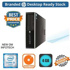 i3 HP PC / 4GB RAM /500GB HDD/ 1YEAR WARRANTY/CALL NOW