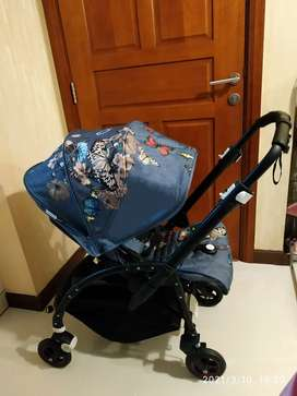 Preloved Bugaboo Be5 LIMITED EDITION TERAWAT ( BOTANICAL COVER )