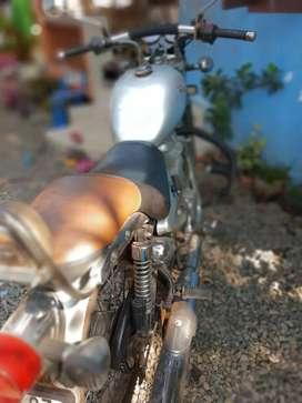 Good condition bike, new chain spoket new disk brake