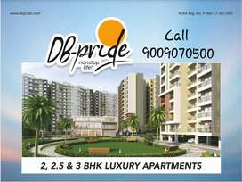 2bhk Luxury Flat in DB pride Township Indore Call For more Info.