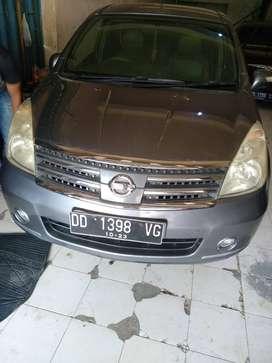 Nissan Livina Ultimate 1.8 Manual Tahun 2008 Mulus Makassar
