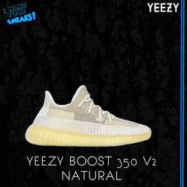 Yeezy Natural Reflective Upper