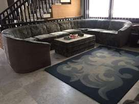 11seater sofa set with center table