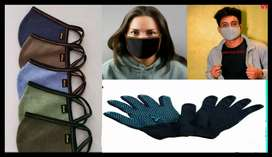 Mask and gloves Wholesale price