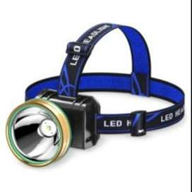 Senter kepala led sinar jauh headlamp led
