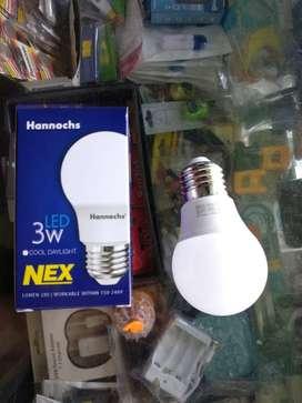 Lampu led varian terbaru by Hannochs LED NEX 3 Watt 3W