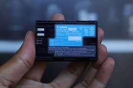 Canon LP E6N Baterai Battrey  For EOS 60D 70D 80D 6D 5D II 5D III