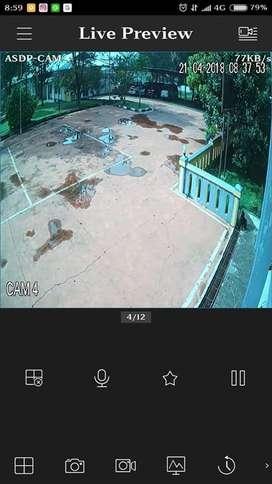 Paket cctv online 4 Kamera IP Cam UNV Kit 2.0mp Outdoor