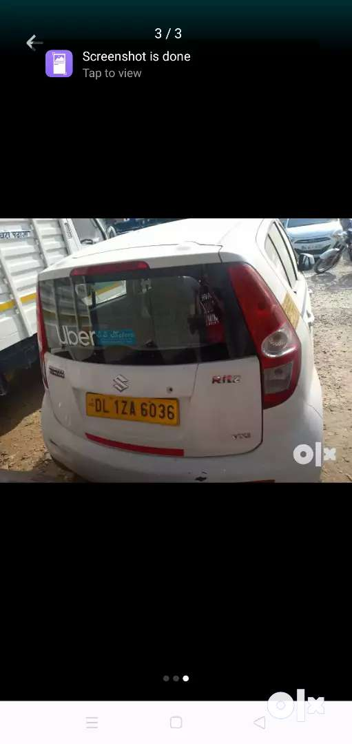 Want to sell commercial ritz lxi attached with both ola amd uber 0