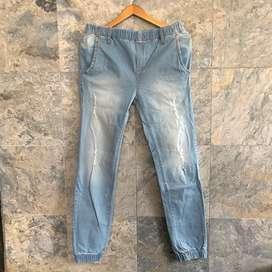 New! Joggerpants jeans
