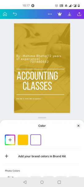 Any class, Any subject specialised in commerce classes.