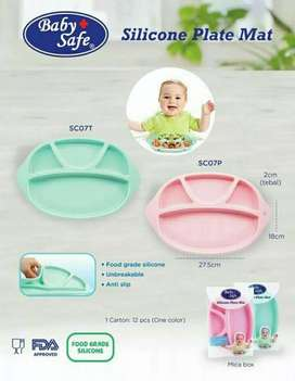 Silicone Plate Mat Baby Safe Tosca