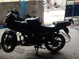 Honda Stunner 125 cc,Black grey colour,Disk brake