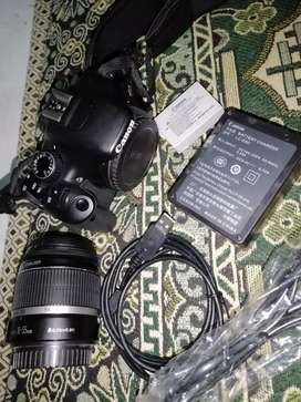 Canon camera for sale lens Efs18_55mm