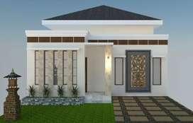 Rumah Modern Mempesona Nuansa Bali Bertipe Kecil Kota Pekanbaru