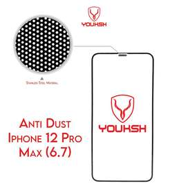 Youksh Anti Dust 9H Glass for All Iphone Models