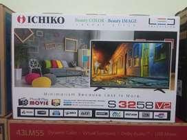 TERMURAH stock hanya 1unit TV LED ICHIKO BARU SEGEL GARANSI RESMI
