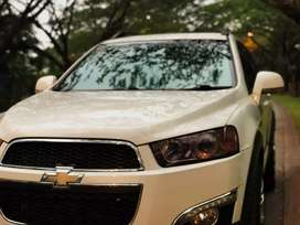 Chevrolet Captiva 2.0 VCDi Turbo Diesel AT/2013. Putih Mulus.