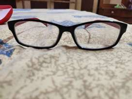 Red and Black Spectacles Frame