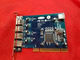Belkin F5U220 PCI REV:3 5 Ports USB2.0 For Sale