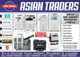 All Types of Photocopiers, Printers & Scanners Available @ Our Display