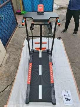 manual Treadmill 4 fungsi baru bisa COD
