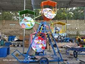 kincir angin mini coaster mainan koin odong