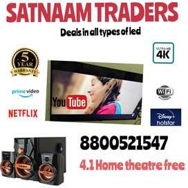 LED Tv 40 / ULTRA SLIM NEW 4K LED Tv With WARRANTY